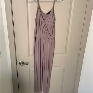 Tan Jumpsuit size medium